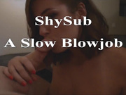 Shysub0413 playing with her pussy in