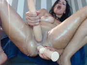 naughtyelle  dp sex and squirting